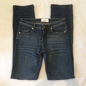 Paper Denim & Cloth straight leg jean size 4